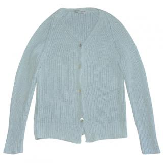 Brunello Cucinelli light blue vintage cardigan