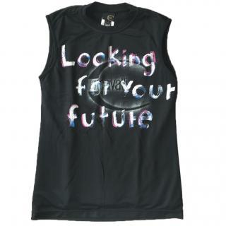 Just Cavalli Art Jersey Style Vest Top