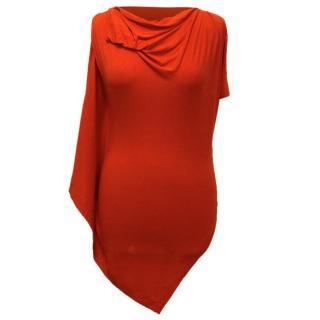 Vivienne Westwood Asymmetric Jersey Top