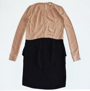 Vanessa Bruno Two-Tone Silk Dress