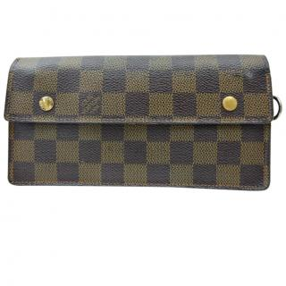 Louis Vuitton Damier Long Wallet 10184PP