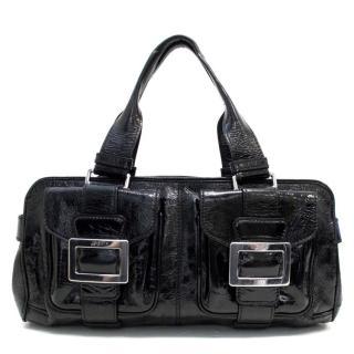 Roger Vivier Patent Shoulder Bag