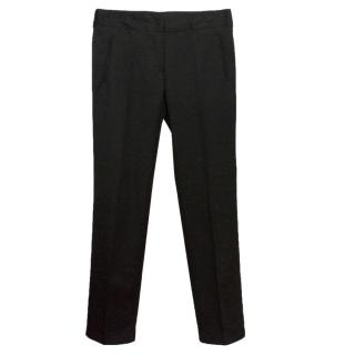 Costume National Straight Leg Trousers