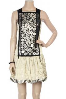 Alberta Ferretti Runway Embellishment Dress