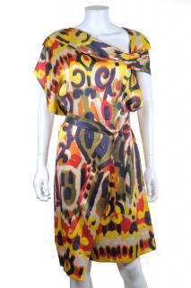 Vivienne Westwood Red Label Silk African Print Dress