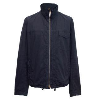 Thomas Burberry Cotton Zip Jacket