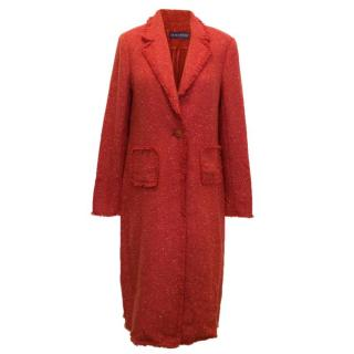 Louise Kennedy Spring Tweed Coat
