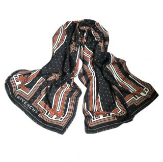 Givenchy wool/silk stole