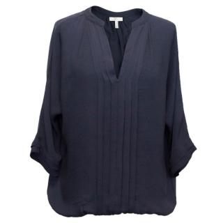 Joie Silk V-Neck Blouse