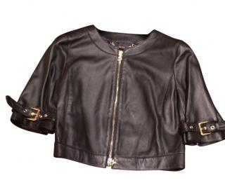 Mini leather biker