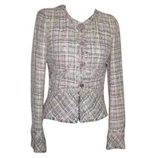 Chanel woven jacket