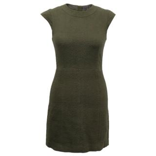 Theory Textured Dress with Cap Sleeves