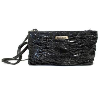 Michael Kors Patent Mock Snakeskin Crossbody Bag