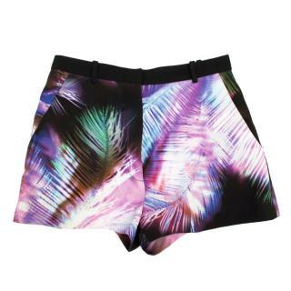Sandro Digital Print Shorts