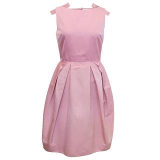 Christian Dior silk tulip dress
