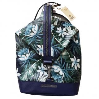 NEW Patrick Cox Edition Tokyo Floral Ruscksack Blue LOWEST SALE PRICE, OPEN TO OFFERS