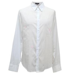 Rajesh Pratap Singh lightbulb design shirt