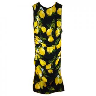 Dolce & Gabbana SS16 Silk Dress