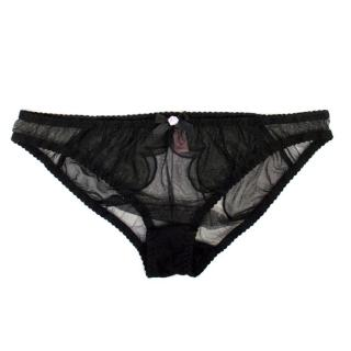 Agent Provocateur Brief with Bow and Rose Detail