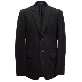 Jil Sander men's ribbed wool blazer
