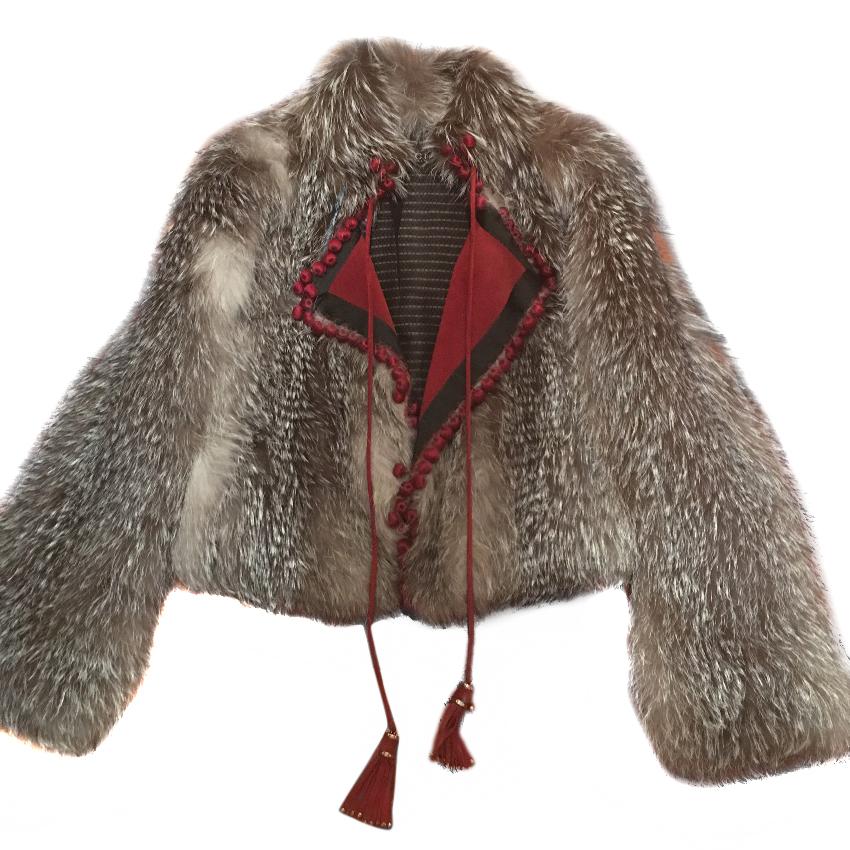 30fa09aa9622 Gucci Fox Fur Jacket | HEWI London