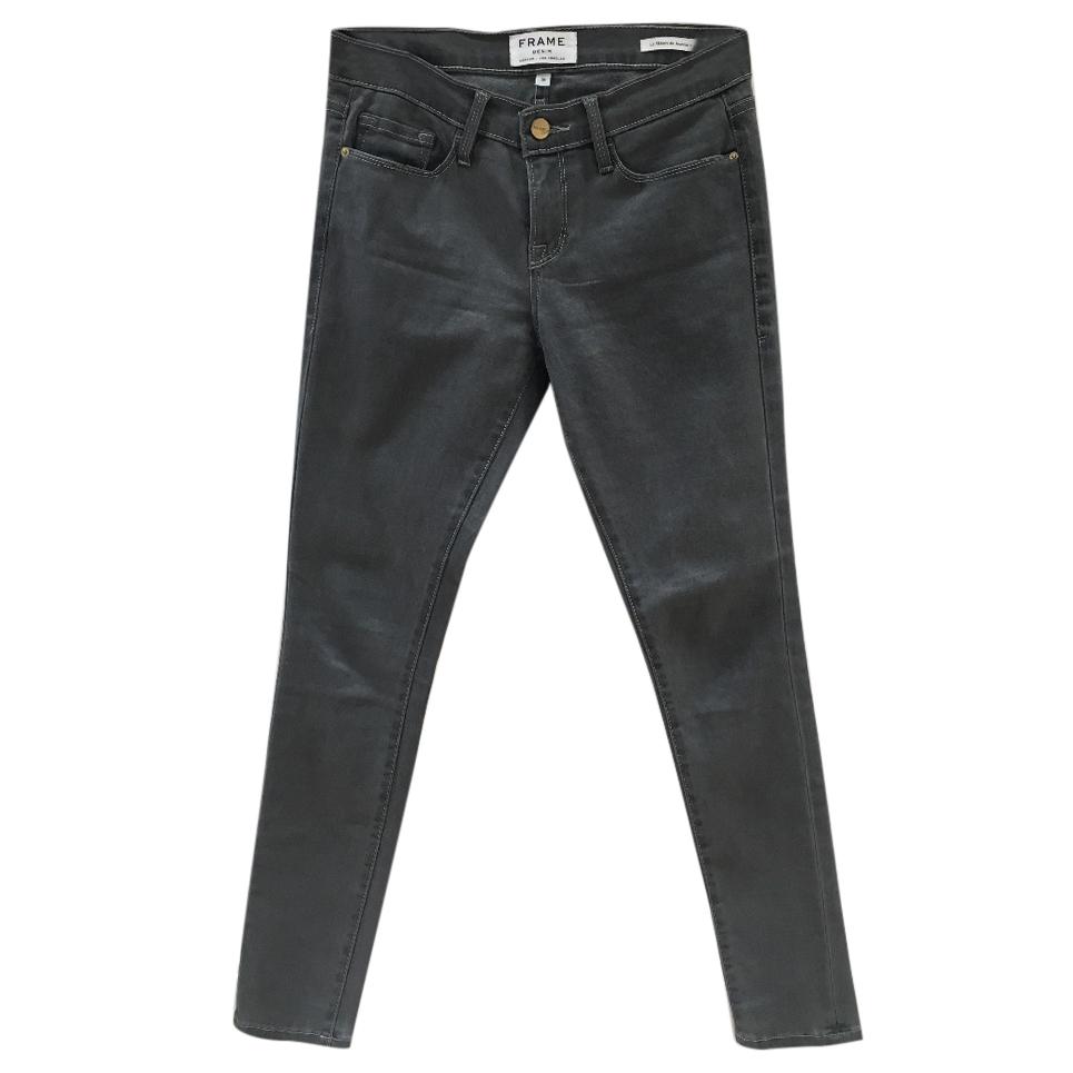 Frame Grey Super Skinny Jeans