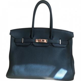 Hermes Blue de Prusse Birkin