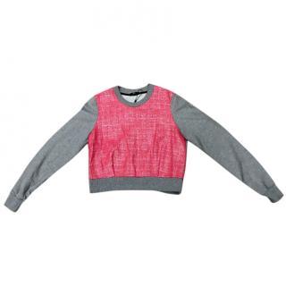Markus Lupfer Grey And Pink Sweatshirt