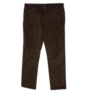Gucci Men's Corduroy Trousers