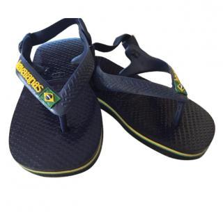 Havaiianas Toddlers Navy Flip Flops