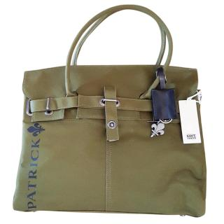 NEW Patrick Cox Edition Tokyo Milatry Small Cotton Bag  LOWEST SALE PRICE, OPEN TO OFFERS
