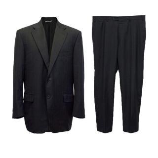 Canali 2 Piece Pinstripe Suit