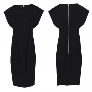 Rick Owens black figure hugging dress