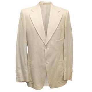 Gucci Men's silk-blend blazer