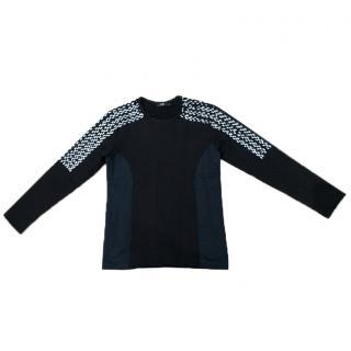 Markus Lupfer Black Embellished Sweatshirt