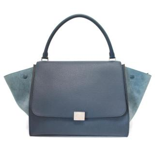 Celine Trapeze Bag with Silver Hardware