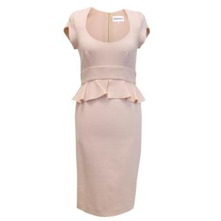 Emilio Pucci fitted dress with peplum