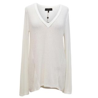 Rag & Bone V Neck Knit Top