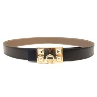 Hermes Collier de Chien Leather Belt