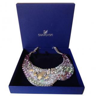 Swarovski statement bib necklace