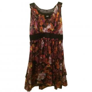 D&G Dolce & Gabbana silk dress