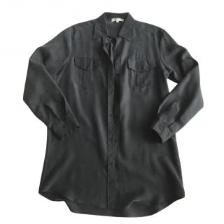 Sandro Washed Black Silk shirt
