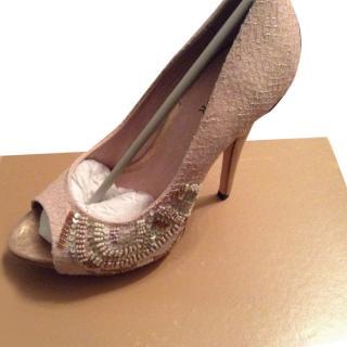 Menbur pink maquillaje shoes