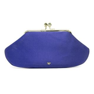 Anya Hindmarch bespoke satin clutch