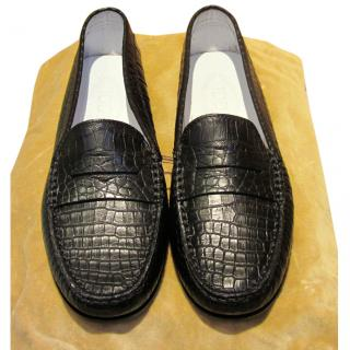 Tod's Reptile Skin Loafer