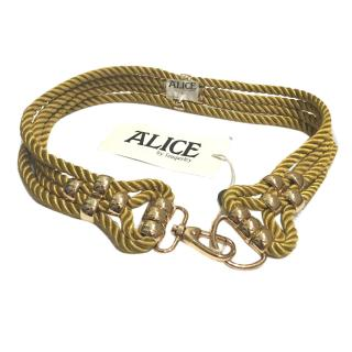 Alice by Temperley gold rope belt