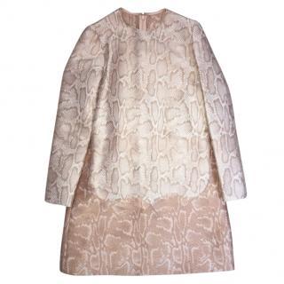 Brand New Stella McCartney Snake Print Dress