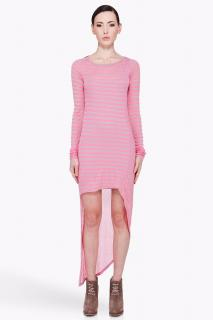 Elizabeth and James neon stripe Claudia dress