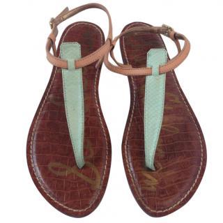 Sam Edelmans Gigi Thong sandal in leather