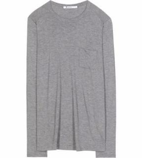 T by Alexandr wang grey top size L, 12.14.new